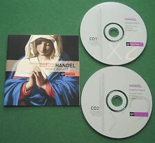 Handel Carmelite Vespers Taverner Choir & Players Feldman Kirkby Cable + CD x 2