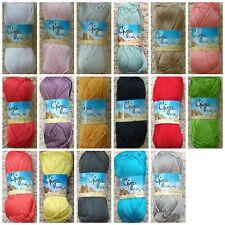Knitting Wool 50g Giza Egytian Cotton 4ply Crochet Yarn Mandala Yarn King Cole