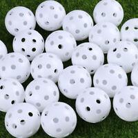 24pcs Golf Ball Airflow Hollow Balls for Golf Practice Training Indoor Outdoor ❤