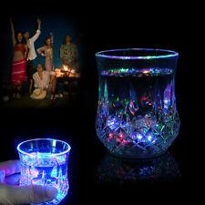 Inductive LED Colorful Wine Whisky Cup Flash light Glass Bar Party Beverage Mug