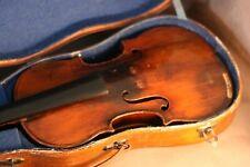 Très intéressant violon Français ancien 18ème siècle - fine old French violin.