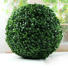 45cm Artificial Grass Green Topiary Balls Indoor Hanging Garden Home Decor