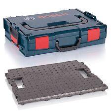 BOSCH L-Boxx 102 (Gr.1) Leerbox + Sortimo Deckeleinlage aus Hartschaum