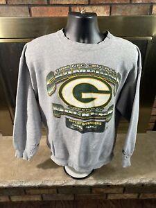 Vintage Starter Green Bay Packers NFL Football Crewneck Sweatshirt Mens Sz Large
