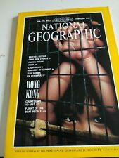 NATIONAL GEOGRAPHIC Magazine February 1991 - Hong Kong