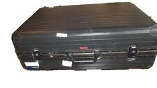 RIMOWA Koffer Vintage gross schwarz mit 2 Rollen Polycarbonat Kunststoff