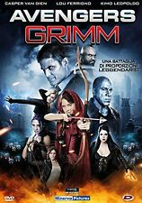 AVENGERS GRIMM - DVD - THE ASYLUM - LOU FERRIGNO - CASPER VAN DIEN