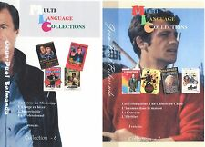 Jean-Paul Belmondo. Set of Collection 7 and 8. Region 0. Total 8 movies.