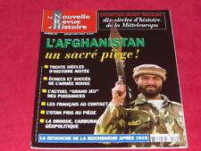 LA NOUVELLE REVUE HISTOIRE NRH 49 L'AFGHANISTAN UN SACRE PIÈGE
