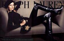 Ralph Lauren Collection Over The Knee Brown Zoe Boots 38 8 $1,200