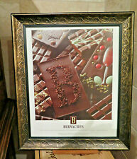 France Best Chocolates POSTER French Chocolate Framed Bernachon Lyon