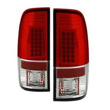 Spyder LED Tail Lights Red Clear For 08-16 Ford F250/F350/F450 SuperD #5003911