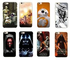 Star Wars Case/Cover Apple iPhone 5 5s SE 5C 6 6S 7 8 Plus Screen Protector Gel