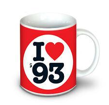 25th Valentine | Birthday | anniversary gifts - 1993 Mug for Him and Her