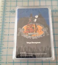 Nightmare Before Christmas Haunted Mansion Holiday Nightmare Playing Cards