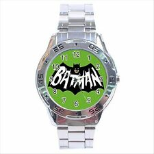 NEW* HOT BATMAN CARTOON Stainless Steel Analogue Wrist Watch Gift