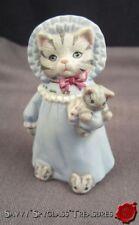 Schmid Kitty Cucumber Anthropomorphic Kitty Cat Nightgown & Kitten Slippers