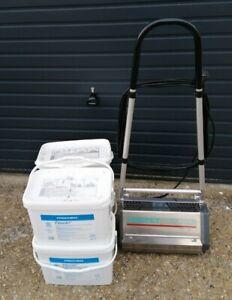 Prochem Fiberdri TM4 Professional Dry Carpet Cleaner & 4x 10Kg Cleaning Compound