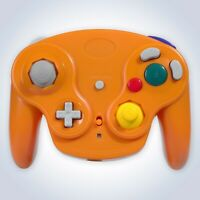 GameCube Controller Wireless Orange for Nintendo GC RF Console Joypad Gamepad