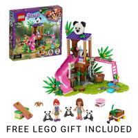 LEGO Friends Panda Jungle Tree House Playground Set 41422 - &  FREE LEGO GIFT