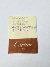 Authentic  CARTIER Santos 24mm Watch Glass 30381175