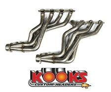 "2010 2011 2012 2013 2014 2015 Camaro SS/ZL1 Kooks Long Tube Headers 1 7/8"" x 3"""