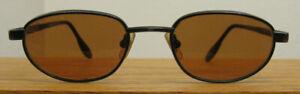 Vintage SERENGETI (Japan) 6413 black frame Oval SUNGLASSES