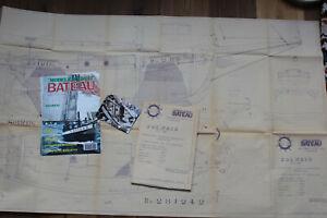 """Schiffsmodellbauplan """"Solweig"""" 1:15 von Modele Reduit Bateau"""