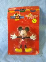1997 BENDABLE micky MOUSE tootsie toy FACTORY sealed