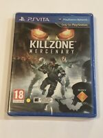 BRAND NEW Killzone: Mercenary (Sony PlayStation Vita, 2013) PS Vita Region Free