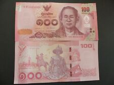 1969 Thailand 100 Baht UNC P 85a // Sign 43
