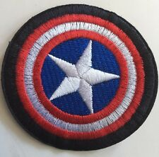 """Marvel Avengers Captain America Shield  Embroidered Iron/Sew On Patch (2.75"""")"""