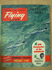VINTAGE R.A.F. FLYING REVIEW MAGAZINE AUGUST 1957 GRUMMAN S2F-1 TRACKER