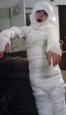 Kid's Mummy Halloween Costume Kit Nearly  100' Of Gauze! Includes Tape