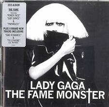 The Fame Monster Lady Gaga UK 2 CD album (Double CD) 2726601 POLYDOR 2009