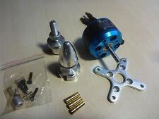 Silver Blue C3530 1700kv Brushless Outrunner Motor mit Zubehör 3D