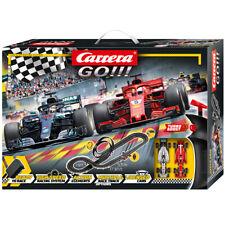 Carrera Go 62482 Speed Grip Ferrari Sf71h VS Mercedes-amg F1 1/43 Slot Car Set