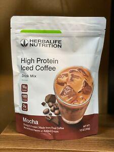 HERBALIFE HIGH PROTEIN ICED COFFEE MOCHA 12OZ (350G)