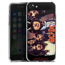 Apple iPhone 7 Silikon Hülle Case - ACDC HIGHWAY