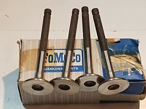 FORD CORTINA GT MK I CAPRI GT CORSAIR GT 4 EXHAUST VALVES std.116E-6505-A NOS!