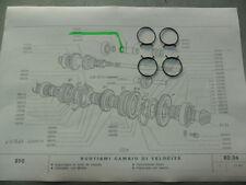 ANELLO ELASTICO MANICOTTO CAMBIO FIAT 500 D/F/L FIAT 850 FIAT 4013788