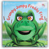 Hand Puppet Books - Grumpy Jumpy Freddy Frog - New Book Eilidh Rose