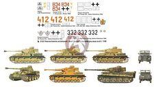 Peddinghaus 1/48 German Tank & Vehicle Markings Gothic Line Italy & France 2321