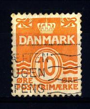 DENMARK - DANIMARCA - 1933 - Cifra in ovale a doppia linea