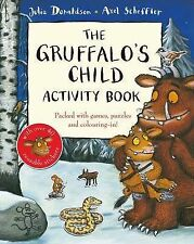 NEW the GRUFFALO'S CHILD  - ACTIVITY book Julia Donaldson  Gruffalo