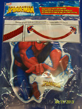 RARE Amazing Spider-Man Superhero Birthday Party Decoration Honeycomb Streamer *