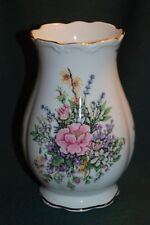 "ROYAL ALBERT 7"" VASE - FRAGRANT FLOWERS Pattern  - BEAUTIFUL"
