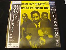 MODERN JAZZ QUARTET/ OSCAR PETERSON TRIO Live JAPAN LP