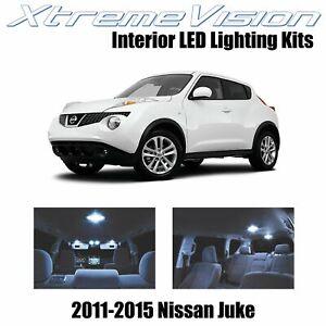 XtremeVision Interior LED for Nissan Juke 2011-2015 (6 PCS) Cool White