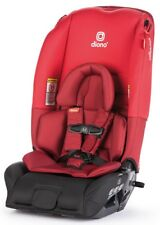 Diono Radian 3 RX All-in-One Convertible + Booster Child Safety Car Seat Red NEW